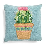 Potted Cactus Hook Pillow
