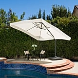 Merida Beige Cantilever Off-Set Patio Umbrella