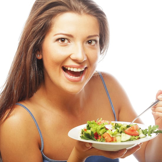 Women Eating Salad