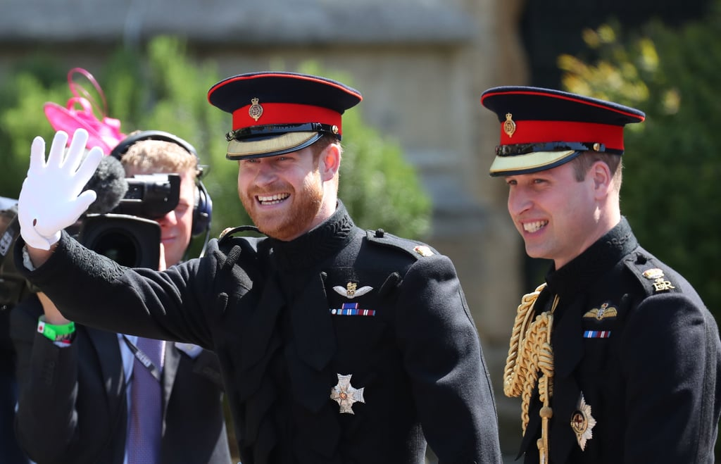 "Prince Harry is officially off the market! The royal tied the knot with Meghan Markle in St. George's Chapel at Windsor Castle on May 19, and can we just talk about how happy he looked? From the second Harry stepped foot inside the chapel, you could see the love and joy in his eyes. Of course, things only got cuter when Meghan Markle made her trek down the aisle and the two locked eyes. Harry donned his military uniform for the special day, and at one point he even shed a tear during the ceremony.  Harry and Meghan's royal love story began back in May 2016 after the two were set up by their mutual friend Markus Anderson. According to royal expert Katie Nicholl, Harry knew Meghan was ""the one"" after ""those first couple of dates."" Fast-forward to present day, and the two are husband and wife — perhaps fairy tales are real after all!      Related:                                                                                                           10 Times Harry and Meghan Showed Us That They're the Perfect Royal Match"