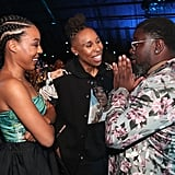 Alana Mayo, Lena Waithe, and Lil Rel Howery