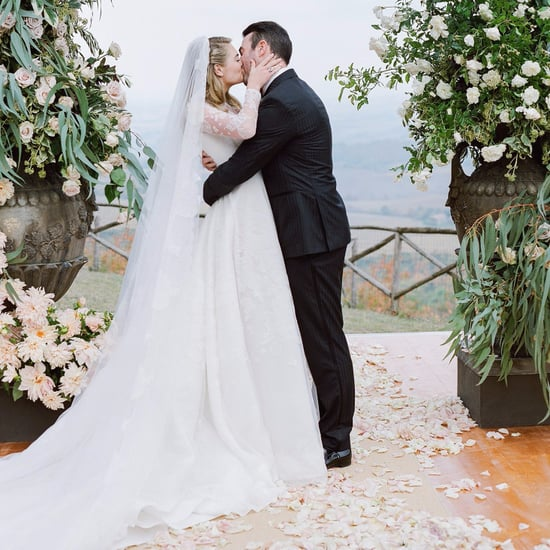 Kate Upton's Valentino Wedding Dress