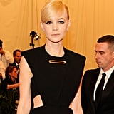 Carey Mulligan looked more chic than punk, but still, she turned up the glam for the big event!