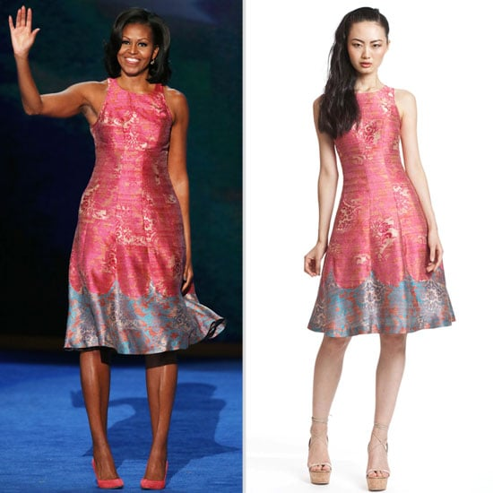 Michelle Obama DNC Tracy Reese Dress Shopping