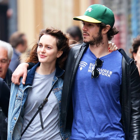 Leighton Meester and Adam Brody PDA in NYC