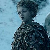 Octavia Selena Alexandru as Leaf, Child of the Forest