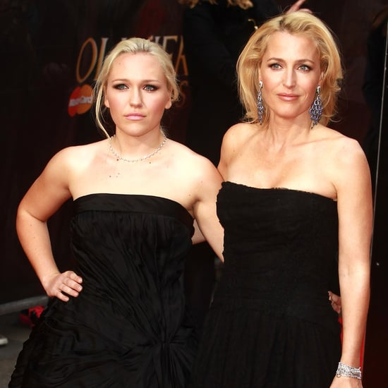 Gillian Anderson and Daughter Piper Maru Klotz Pictures