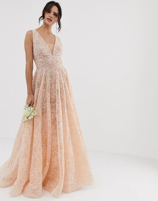 Bronx & Banco Emily Exclusive Embellished Bridal Gown