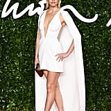 Amber Valletta at the British Fashion Awards 2019 in London