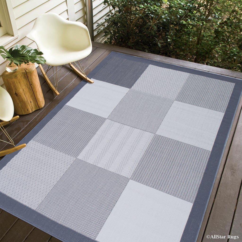 Grey Allstar Indoor Outdoor All Weather Rug Best Cheap