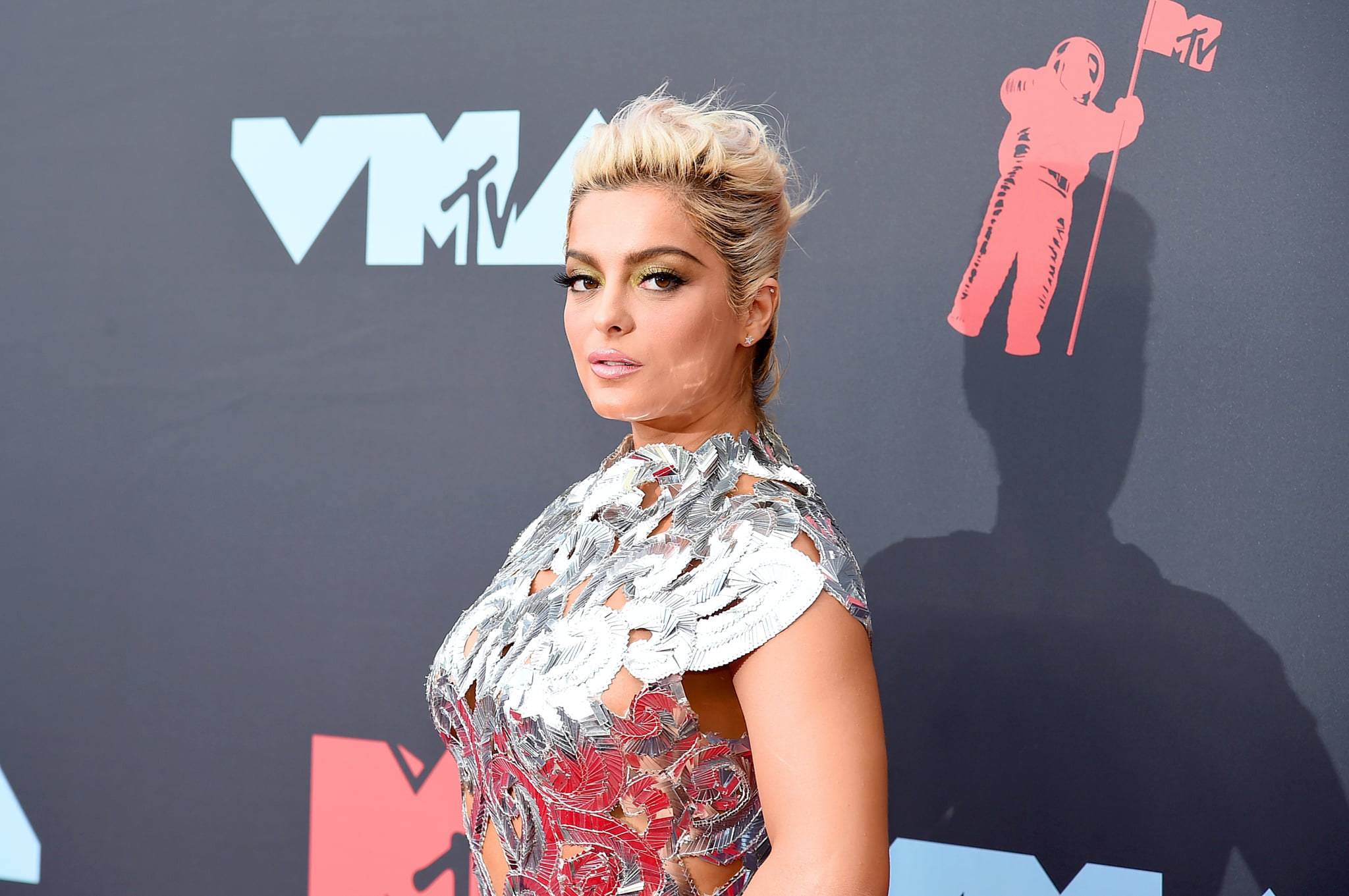 NEWARK, NEW JERSEY - AUGUST 26: Bebe Rexha attends the 2019 MTV Video Music Awards at Prudential Center on August 26, 2019 in Newark, New Jersey. (Photo by Jamie McCarthy/Getty Images for MTV)