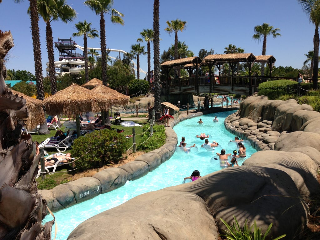 Spend the day at a water park.