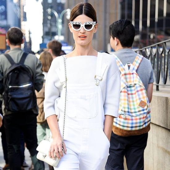 Braless Street Style Popsugar Fashion