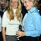 She met up with Diane Sawyer for an appearance on Good Morning America in NYC back in September 2004.