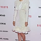 Rooney Mara wore Alexander McQueen.