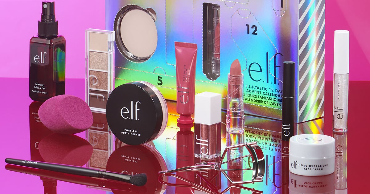 This e.l.f. Cosmetics Advent Calendar Is the Beauty Gift That Keeps On Giving