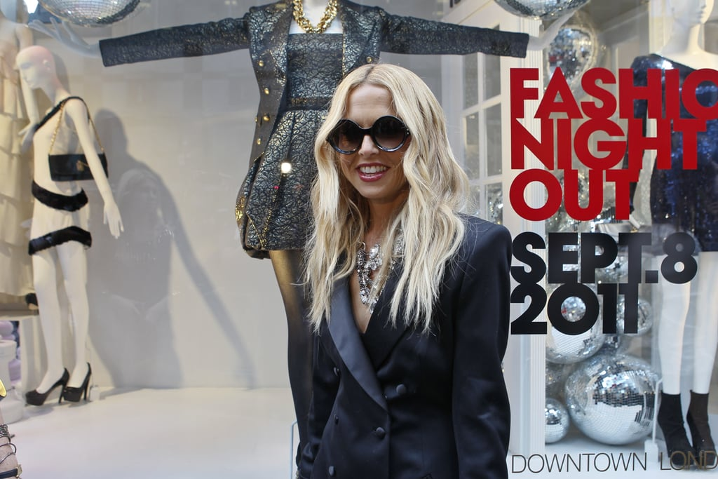 Rachel Zoe was all smiles at a Bloomingdale's event in 2011.
