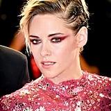 Kristen Stewart's Laced-Up Updo