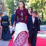 Her Cranberry Design Even Featured Trendy Embellishments