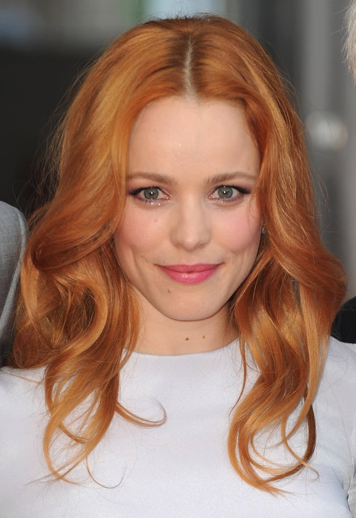 Rachel Mcadams Red Hair Celebrity Pictures Popsugar Beauty Photo 9