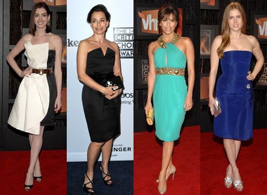 Knee Skimming Dresses at Critics Choice Awards 2009