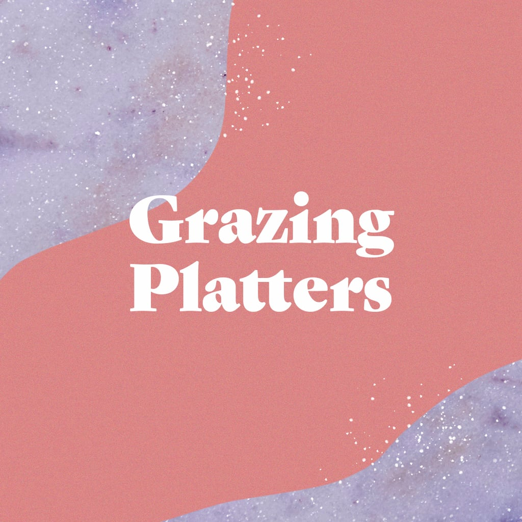 Forget individually plated dishes: in 2020, it's all about grazing platters. And no, we're not just talking about cheese and charcuterie boards, though grazing platters share the same abundant aesthetic.  From weddings to tailgates to birthdays, you're likely to see more grazing platters as the focal moment of the table. Think several types of candy artfully arranged by color for a sweet after-dinner treat, or a long slate spilling over with different flavors of bagels and all the schmears you can dream of at a brunch. The sky's the limit, as long as it can feed a crowd and looks Instagrammable!