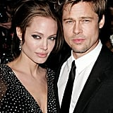 Brad attended the NYC premiere of The Good Shepherd with Angelina Jolie in December 2006.