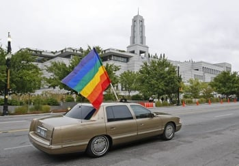 Front Page: Mormons Help Bring Gay Rights to Salt Lake City