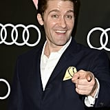 Glee's Matthew Morrison hammed it up on the red carpet.