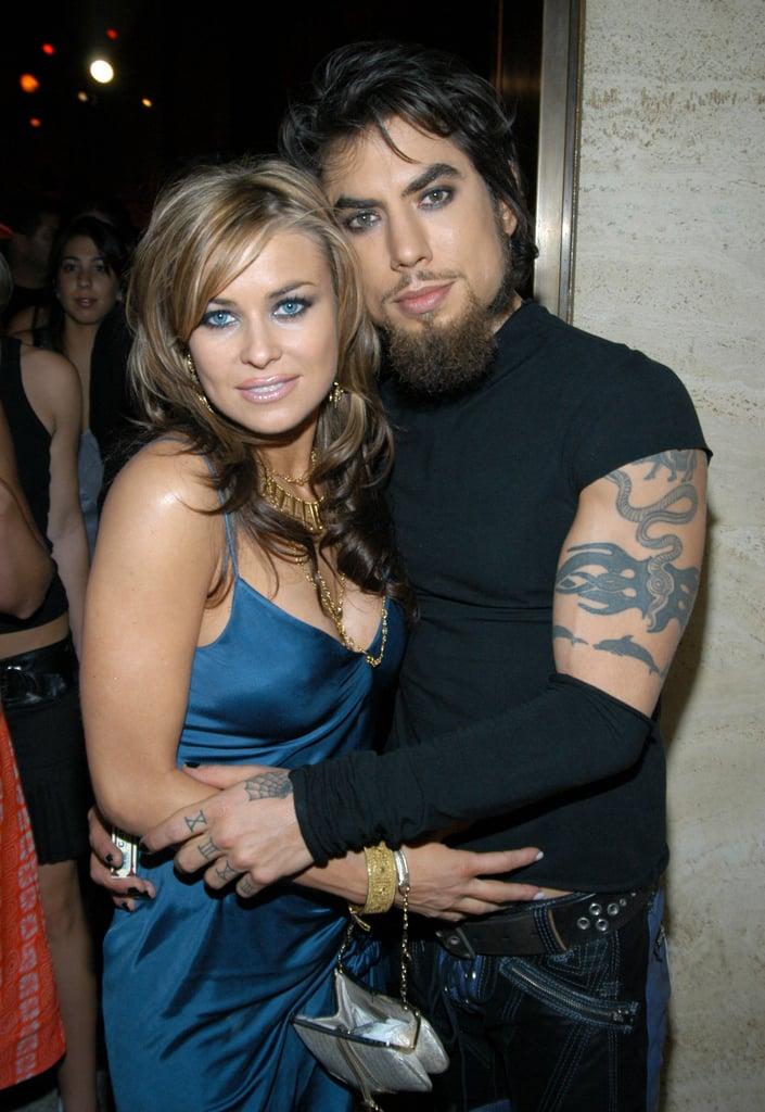 Carmen Electra and Dave Navarro, 2003