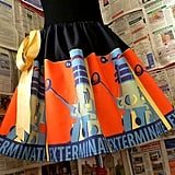 Dalek Exterminate Skirt ($66)