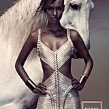 Herve Leger Spring 2012 Ad Campaign