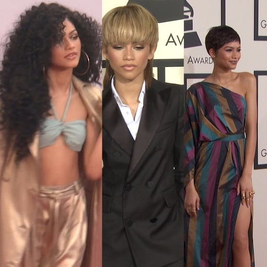 Zendaya Changing Hairstyles | Video