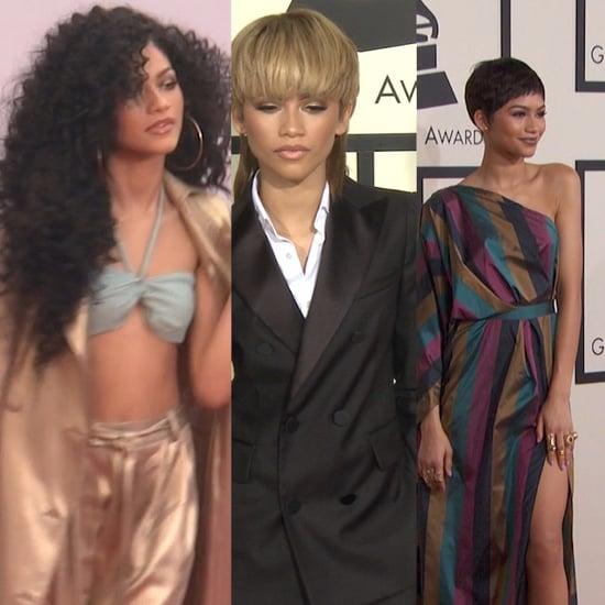 Zendaya Changing Hairstyles | Video