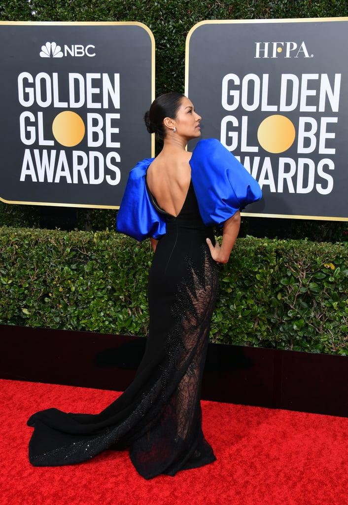 Janina Gavankar at the 2020 Golden Globes