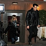 Jennifer Aniston and Justin Theroux went out on a NYC date.