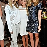 Jaime King, Sarah Hyland, and Nicola Peltz