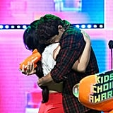 Noah Centineo Lana Condor at 2019 Kids' Choice Awards Photos