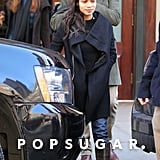 Rosario Dawson stepped out with boyfriend Danny Boyle in NYC.