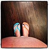 Soleil Moon Frye is taking in the final days of her third pregnancy. Source: Instagram user moonfrye