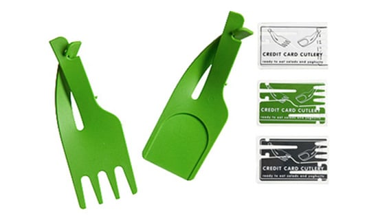 Poll: What Do You Think About Credit Card Cutlery?