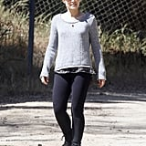 Kristen Bell at Griffith Park.