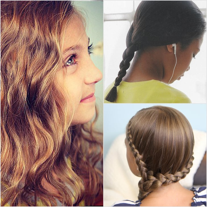 Easy School Hairstyles Popsugar Family