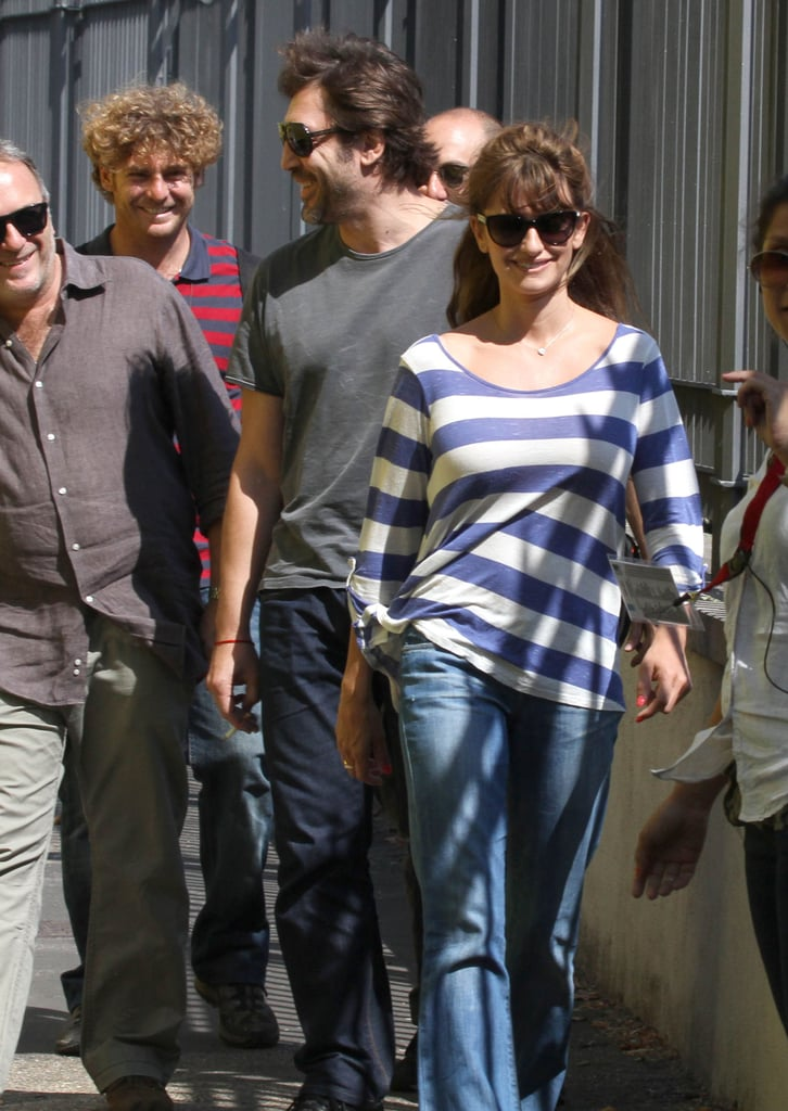 The couple was all smiles during a July 2011 stop in Rome.