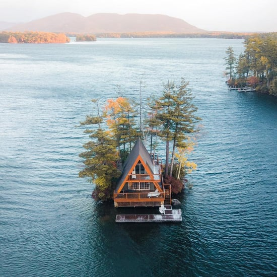 This Cabin in New Hampshire Is on Its Own Island