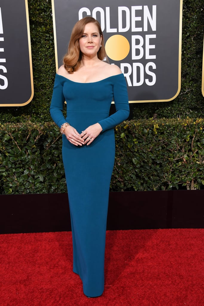 Amy Adams at the 2019 Golden Globes