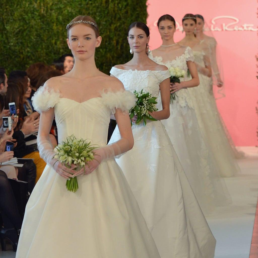Most Stylish Wedding Dresses 29 Unique Oscar de la Renta