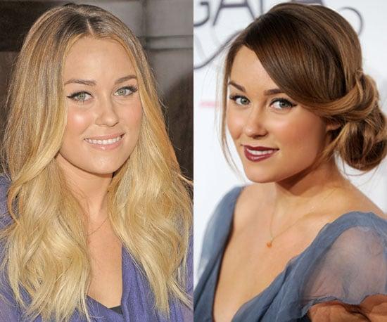 Pictures of Lauren Conrad's New Hair 2010-11-09 11:00:00