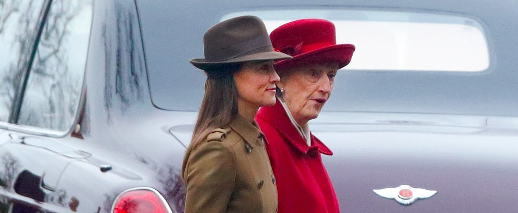 Pippa Middleton Wore a Winter Coat We Bet Even Kate Would Want to Borrow