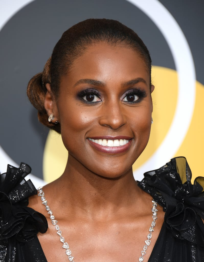 Issa Rae at the 2018 Golden Globes
